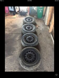 Rims and tires,4x100