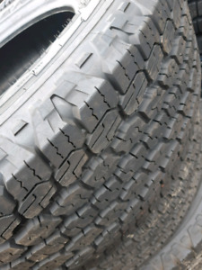 NEW 245/75/R17 GOODYEAR ADVENTURE TIRES