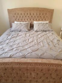 Super kingsize bed frame only