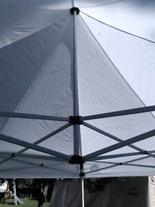 MOTORCYCLE 10 X 10 EASY UP CANVAS CANOPY WITH SIDES Windsor Region Ontario image 3
