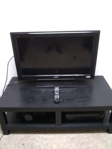 "Sony 32"" LCD TV with the remote"