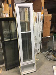 2-PVC Guillotine windows / 2-Fenetres Guillotines en PVC