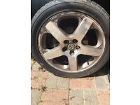 SANTA MONICA ALLOYS. VW GOLF 225/45/R17