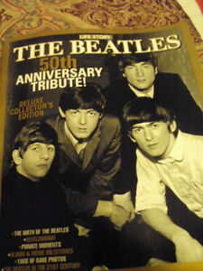 a beatles 2nd 50th aniversary special edition soft cover book