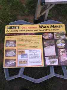 Quikrete  country stone pattern