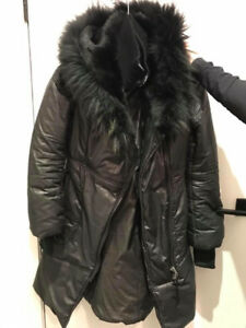 BLACK MACKAGE WINTER JACKET IN PERFECT CONDITION