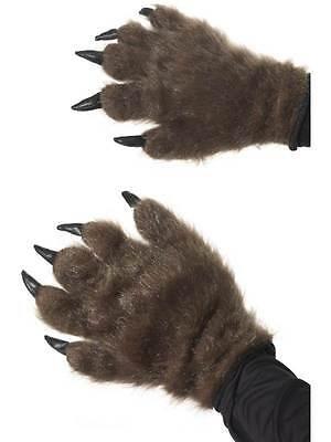 Haarig Monster Hände, Halloween Kostüm Zubehör, Werwolf / - Halloween Monster Händen