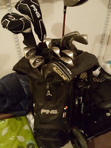Ping full set (G20 irons, G2 driver, wood) with bag, putter Windsor Region Ontario image 6