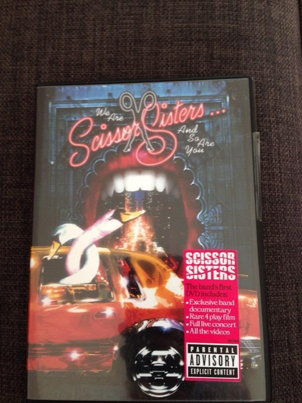 Scissor sisters DVD | in Bathgate, West Lothian | Gumtree