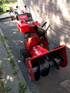 TORO Snowthrower/Snowblower - 24 inch 7 HP