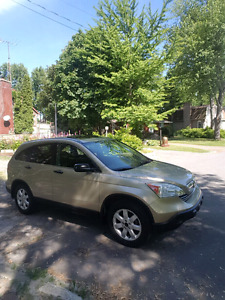 2007 Honda CRV EX Awd in mint condition with low km