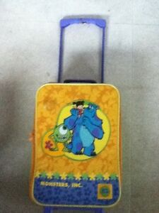 Kids Monster Inc Small Suitcase