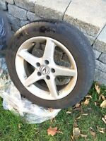 ACURA RIMS AND TIRES ! Need gone asap
