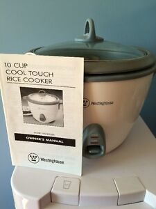 Cool touch rice cooker