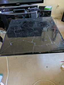 Two end tables and one coffee table (OBO)
