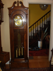 Grandfather Clock, Warranty, Delivery, Setup Included. in Price