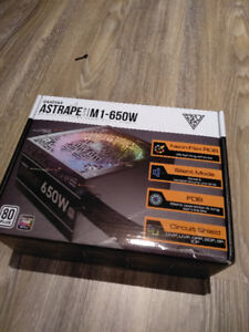 BNIB - GAMDIAS ASTRAPE M1-650W RGB Power Supply
