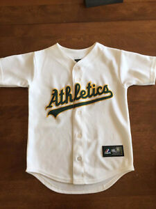 Authentic Oakland Athletics Jersey (Youth Small)