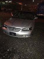 2002 Honda Accord ex part out