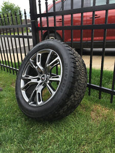 "jeep Grand Cherokee 2014 SRT 20"" wheels and tires"