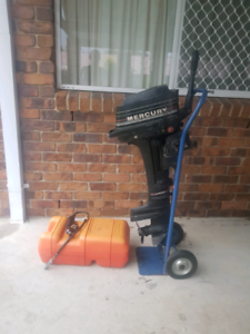 Mercury outboard 4hp | Boat Accessories & Parts | Gumtree
