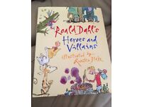 Roald Dahls Heroes and Villains hard back