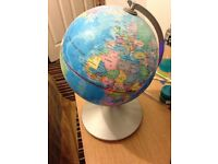 Electric World map for sale