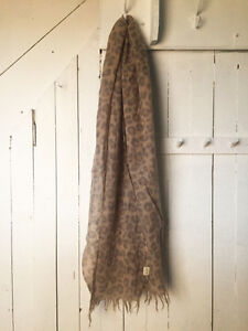 Aritzia Wilfred Leopard Scarf - Great Condition - $24
