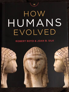 How Humans Evolved textbook for ANTH 1101 $165 OBO