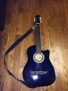 """Acoustic guitar - youth size 38"""" long"""