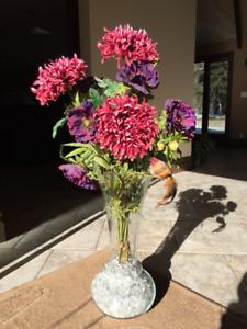 Silk plants kijiji in calgary buy sell save with canadas 1 silk plant with glass vase mightylinksfo