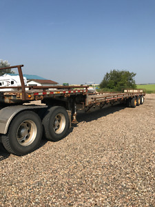 "53"" Manac Tri Axle Step Deck Trailer"