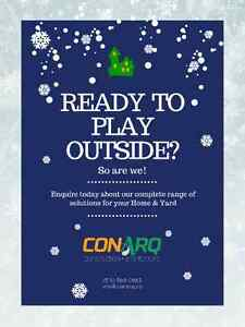 Ready to play outside? Ask for our Total Home Solutions Program Stratford Kitchener Area image 1