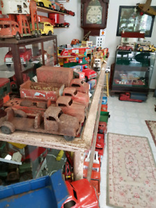 Pressed metal toy trucks for sale and wanted