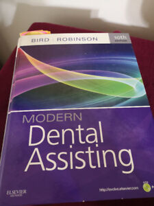 4 Modern Dental Assistant Books (Like new condition)