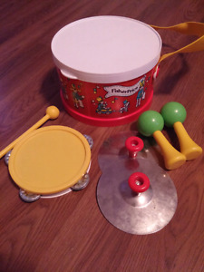 1979 Fisher Price Lil band Kit