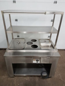 Table chaude, rechaude, heating table L-44""