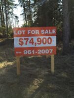 Lot in candle lake