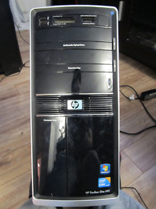 TOUR HP-i7 860- 4GB RAM - 500 GB HDD - FX3800- WIN 10