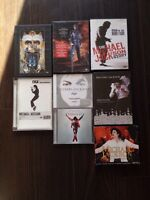 MICHAEL JACKSON CDs, book and documentaries