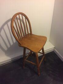 Tall breakfast chair /barstool
