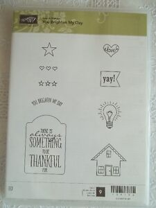 """""""Stampin' Up""""...""""You brighten my day"""""""