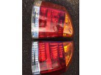 1.9cdti Vauxhall vectra rear lights