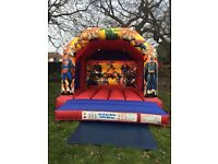 Bouncy castle popcorn & candy floss machine slush machine soft play hire in London area
