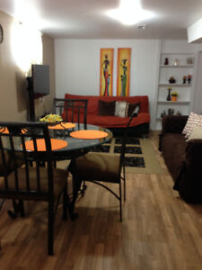 Bright & Fully Furnished Apartment- All Utilities, WIFi Included