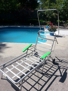 Vintage Lounge Chair Frame