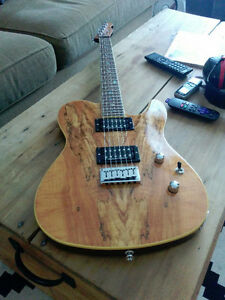 For TRADE: Fender Custom Telecaster Spalted Maple HH Solidbody