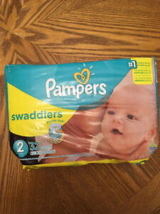 Pampers swaddles size 2