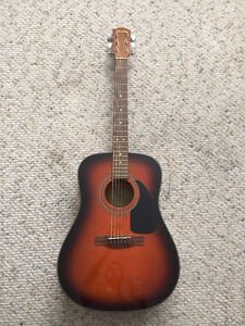 Fender Acoustic Guitar and Soft Shell Case