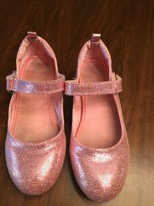 Pink Sparkly dress shoes.  Size 12
